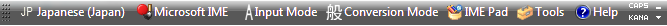 Japanese-toolbar